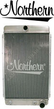 Northern 205161 Custom Hotrod 30s-40s Aluminum Downflow Radiator Right Outlet
