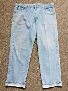 Hutson Harbour Blue Regular Jeans Bootcut W38 L29 Zip Fly