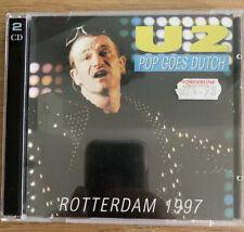 U2 Live CD - Pop Goes Dutch 2 x CD Rotterdam 1997