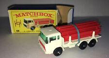 Matchbox Lesney Vintage No.58 1968 DAF Girder Truck In Original Box