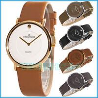 Klassische JORDAN KERR Analog Armbanduhr nickelfrei Lederband + Geschenkebox