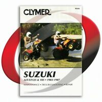 1984-1987 Suzuki LT185 Repair Manual Clymer M381 Service Shop Garage