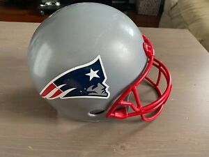 Vintage Franklin New England Patriots Plastic Football Helmet Display Only