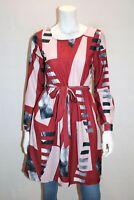 Simply Yours red mesh high waist bikini set uk size 20 bnwt ref box wh212