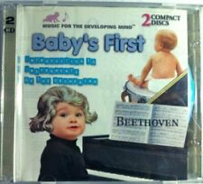 Baby's First Classics Beethoven, Debussy, Mozart, Bach..  [CD]