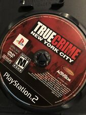 True Crime New York City Playstation 2 PS2 Game