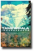 Tame Impala Poster InnerSpeaker Tour North America 11 x 17 inches Sky