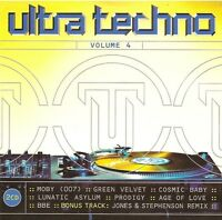 Compilation ‎2xCD Ultra Techno - Volume 4 - France (M/M)