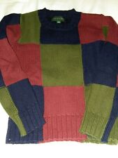 Jcrew crewcuts multi color sweater size 6 to 7 - recommend for a true 6