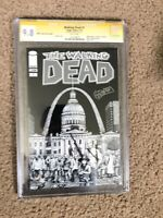 Walking Dead #1 CGC Signature 9.8 Wizard World St. Louis Exclusive Gerhard