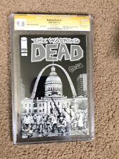 Walking Dead #1 CGC Signature 9.8 Wizard World St. Louis Exclusive Gerhard