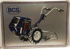 Original Vintage 1970S BCS Metal Tiller Dealer Farm Sign