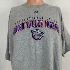 Majestic Lehigh Valley Iron Pigs T Shirt MILB Philadelphia Phillies Size 2XL