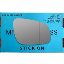 Right Driver side Wide Angle wing mirror glass for Vauxhall Viva 2015-2017