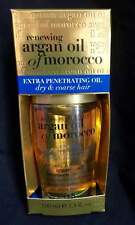 ORGANIX RENEWING ARGAN OIL OF MOROCCO EXTRA PENETRATING OIL  DRY , COARSE HAIR