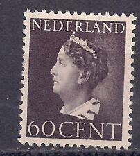 NETHERLANDS - 1946 - Wilhemina 60 c (Sc 225B) - MH