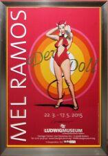 "Mel Ramos, ""Devil Doll"" handsigniert in Luxusrahmung unter Museumsglas"