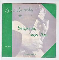 Aimé DUVAL S.J. 45T EP SEIGNEUR MON AMI -POURQUOI SI TARD ? STUDIO SM 45-03 RARE