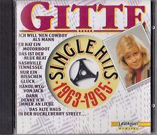 GITTE : SINGLE HITS 1963-1965 / CD - TOP-ZUSTAND