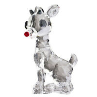 Carlton Ornament 2011 Rudolph The Red Nosed Reindeer - Crystal Glass - CXOR119Z