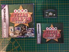 GAME BOY GAMEBOY ADVANCE GBA BOXED BOITE ZOOO TEXAS HOLD EM POKER AGB-BXAE-USA