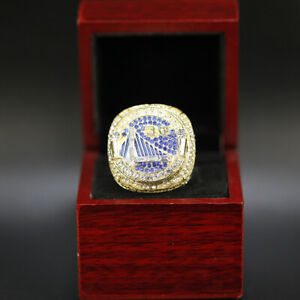 Golden State Warriors Ring Stephen Curry Ring 2018 Championship Ring with Box