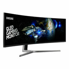 SAMSUNG CHG90 Series 49-Inch Curved Gaming Monitor QLED HDR