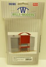 Wills Modern SSM311 - Out Of Town Retail Unit Frontage Kit        OO / HO Gauge