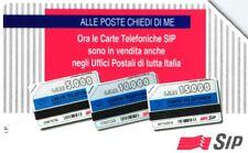 *G AA 37 C&C 2365 SCHEDA TELEFONICA USATA ALLE POSTE BILINGUE 10 12.95