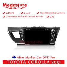 "9"" Car DVD GPS Navigation Head Unit Stereo For TOYOTA COROLLA 2015"