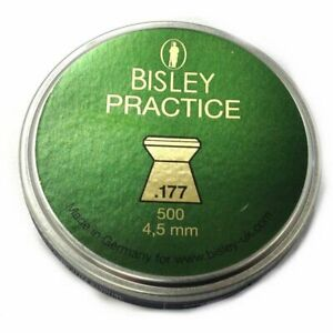 BISLEY PRACTICE .177 / 4.5MM SELECT QUANTITY FAST DESPATCH
