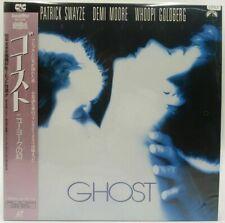 Japan LD Laserdisc GHOST Patrick Swayze Demi Moore Whoopi Goldberg Obi Movie 57