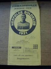 29/05/1980 herfolge BOLDKLUB V frem [CARLSBERG GRAND PRIX] (Piegati). nessuna evidente