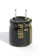 12pcs Panasonic FL  680uf 4v 105C Radial Electrolytic Capacitor OEM Low ESR