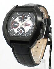 Orologio D&g Crono Tonneau in acciaio PVD Nero Ref. Dw0214