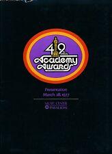 49th ACADEMY AWARDS: OSCARS PROGRAM 1976-77-- Robert De Niro, Rocky Balboa