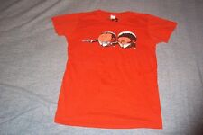 Extra Pulp Fiction Movie Orange Samuel L.Jackson John Travolta T-Shirt Juniors L