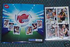 2009 Herald Sun AFL Footy card set plus folder 208cards