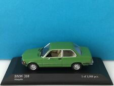 Minichamps 1:43 BMW 318 1975 Green Modell Nr. 430 025405