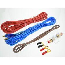 Stromkabel Verstärker 10mm² Anschlußset 10mm² Strom, Masse,Cinchkabel, Sicherung