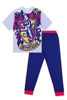 Plus Size Men's Harry Potter Gryffindor Character Cotton Pyjamas Sizes M to 5XL