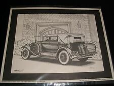 VINTAGE 1931 PACKARD PORTRAIT<>CAR CLASSIC°LIMITED EDITION<>WORLD OF WHEELS