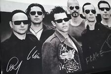 Rammstein Signed Poster All 6 Band Members perfect conditions collectable