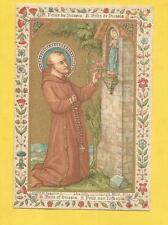 IMAGE PIEUSE HOLY CARD FELIX DE NICOSIE NICOSIA FELICE  SAINT AUGUSTIN BRUGES