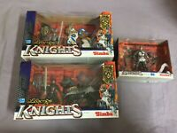 3x Legends of Knights Action Figure inkl Pferde - Simba Chap Mei Ritter Figur