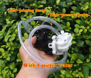 DC 12V Small high-pressure water pump Self-priming/diaphragm/pressure pump