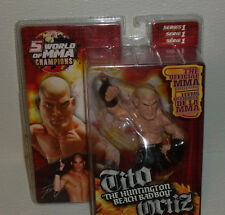 Tito Ortiz HB Bad Boy Round 5 UFC World of MMA Champions Series 1 Action Figure