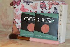 2x OFRA Cosmetic Blush In Chameleon~Colourpop Ultra Glossy Lip~Brush and Bag