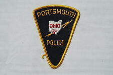 US Portsmouth Ohio Police Patch Obsolete