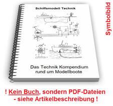 Schiffsmodell selbst bauen - Modellboot Steuerung Antrieb Technik Patente